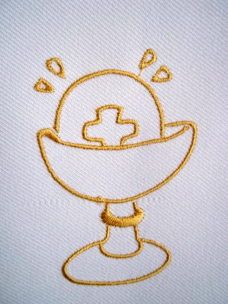 echarpe de communion polyester personnalisée par amd a coudre (8)