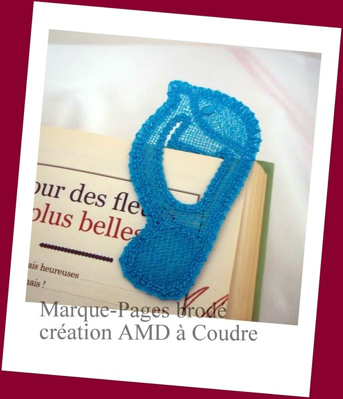 marque-pages brodé motif oiseaux création amd a coudre (5)