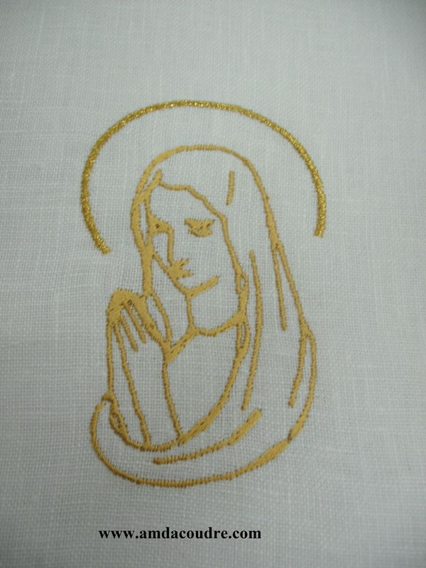 VIERGE MARIE AMD A COUDRE (3)