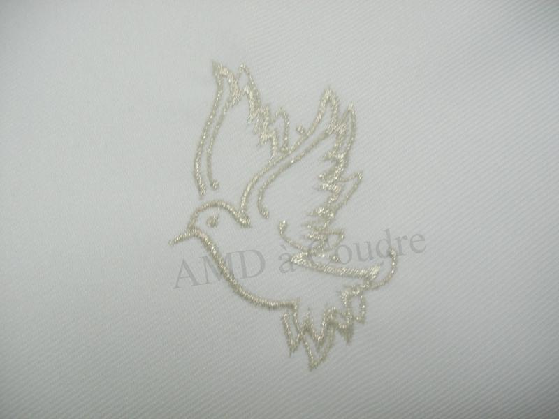 echarpe bapteme personnalisable colombe par amd a coudre (3)