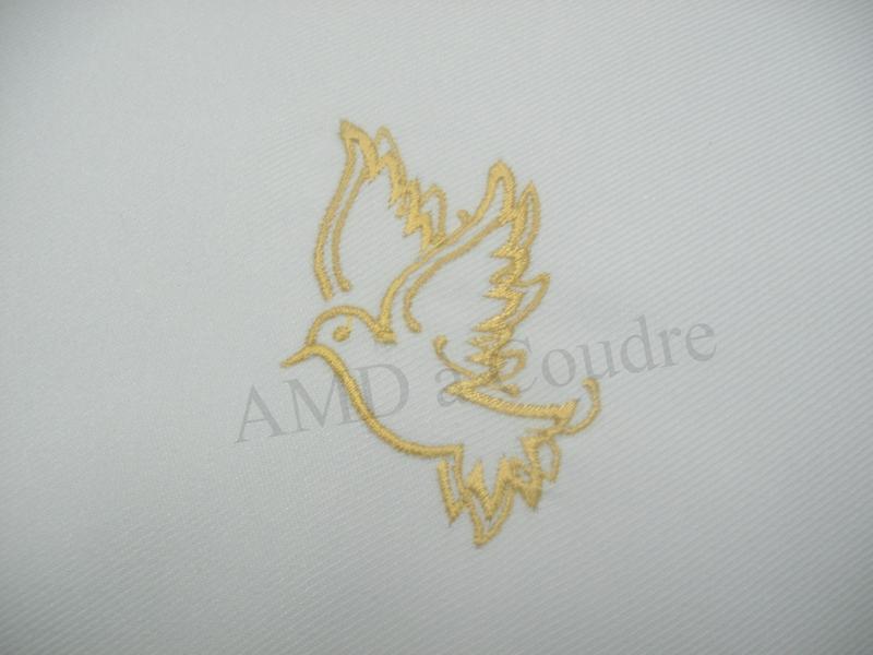 echarpe bapteme personnalisable colombe par amd a coudre (2)