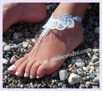 Bijoux de pieds dentelle...