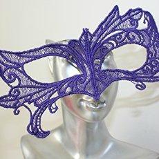 masque venitien violet dentelle par amd a coudre sur amazon