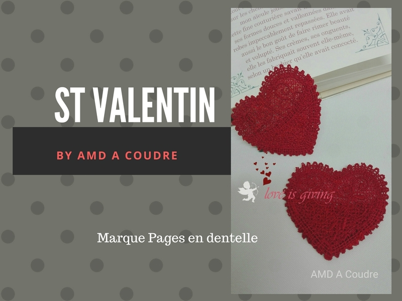 ST VALENTIN MARQUE PAGES DENTELLE BY AMD A COUDRE (3)