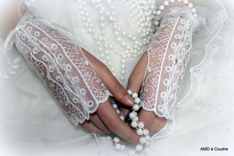 GANTS DE MARIAGE DENTELLE BLANCHE BY AMD A COUDRE (2)