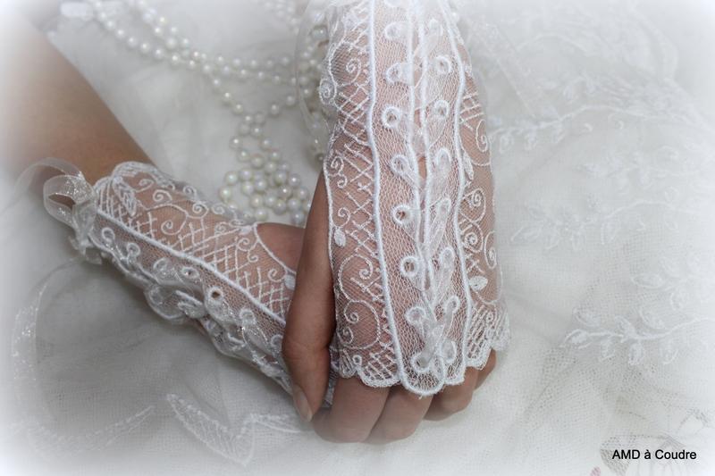 GANTS DE MARIAGE DENTELLE BLANCHE BY AMD A COUDRE (16)
