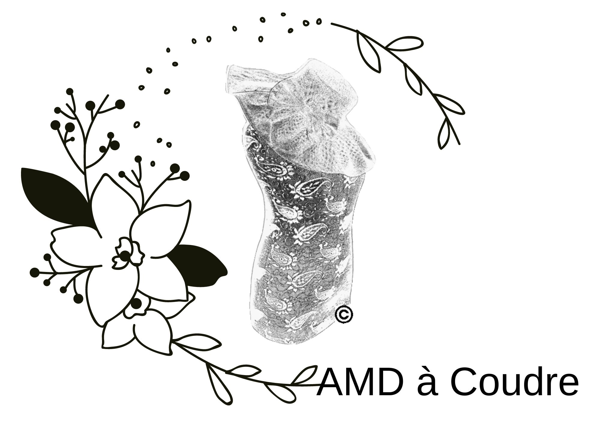 AMD à Coudre, Broderie, Couture, Personnalisation