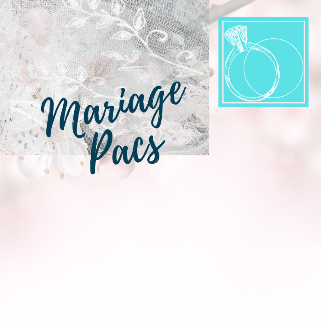 mariage wedding pacs