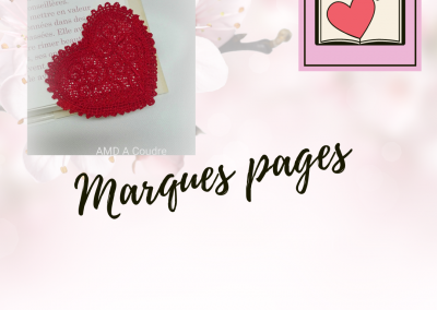 marques pages dentelle