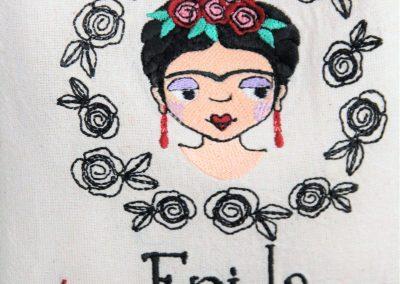 tote bag frida kahlo viva la vida
