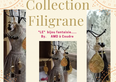 collection filigrane by AMD A COUDRE